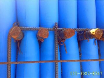 多标号混凝土浇筑用阻断拦茬气囊-充气式拦茬气袋气柱气棒