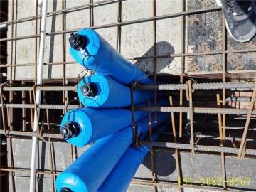 充气式柔性拦茬气囊-多标号混凝土浇筑拦茬防串标气囊