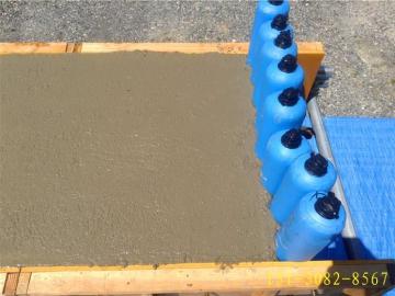 湖南长沙60*1000型建筑混凝土拦茬隔断气棒1100条已发货