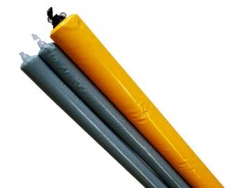 混凝土隔断气囊-重复使用型拦茬气囊 降本增效