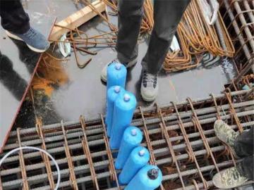 450条混凝土隔断气囊已发往浙江宁波共8箱